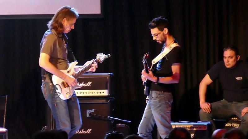 Steve Vai Theodore Kalantzakos Jamming During Alien Guitar Secrets Masterclass!