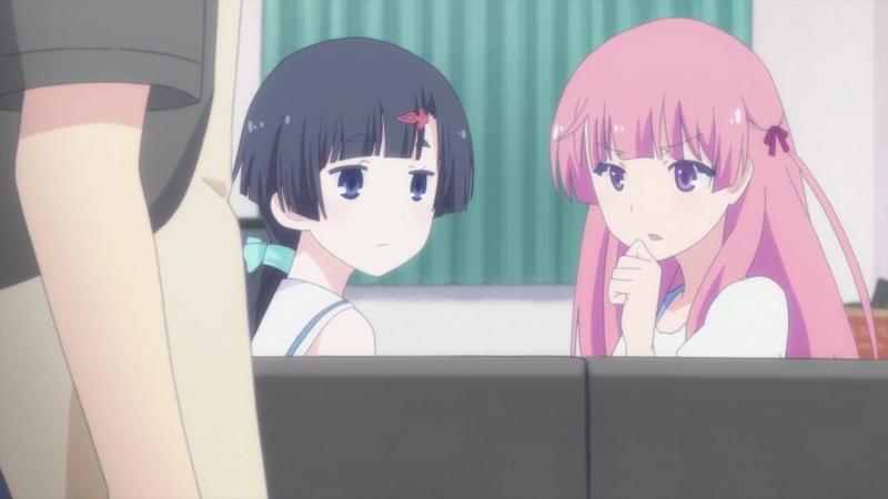 Меж двух огней — Девушка и подруга детства / Ore no Kanojo to Osananajimi ga Shuraba Sugiru (8-13 серии)