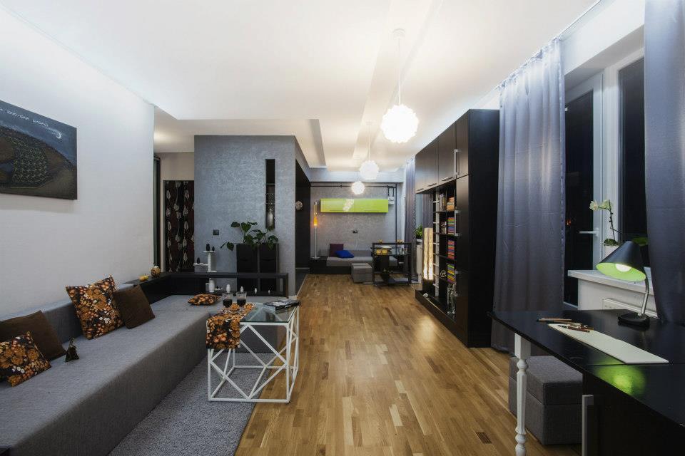 Просторная квартира 52 м во Львове.