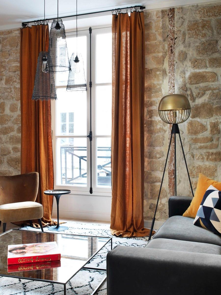 Квартира 45 м в Париже.
