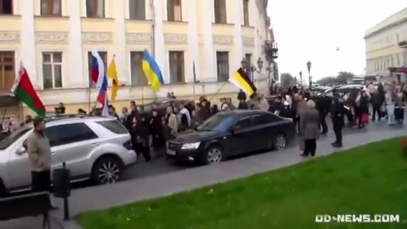 Одесса 4 ноября 2012 Русский марш и хохлики