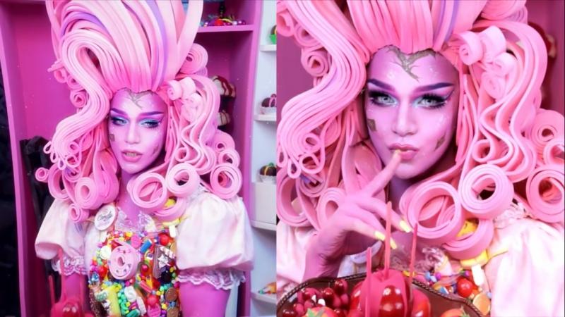 Princess Bubblegum Makeup Tutorial - Arabia Face Awards Top 20 Arabia Felix. Транси