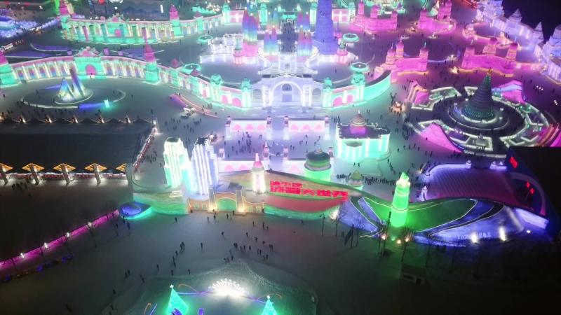 Ледяной городок в Харбине