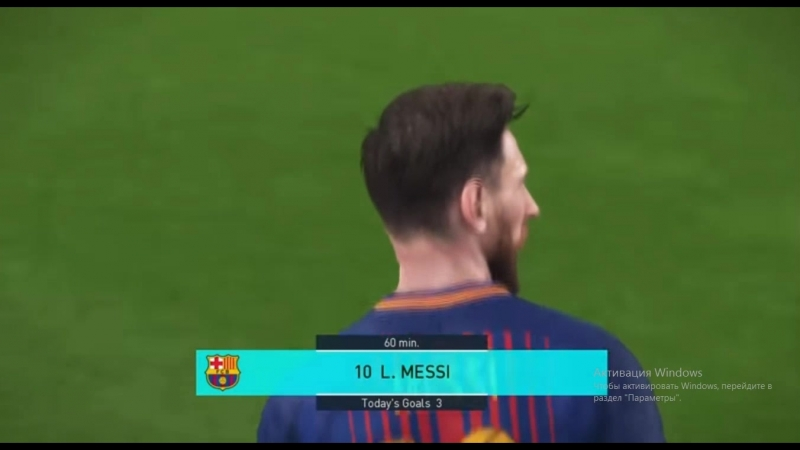 Lionel Messi BEST GOALS PES FIFA 18 ГОЛЫ МЕССИ