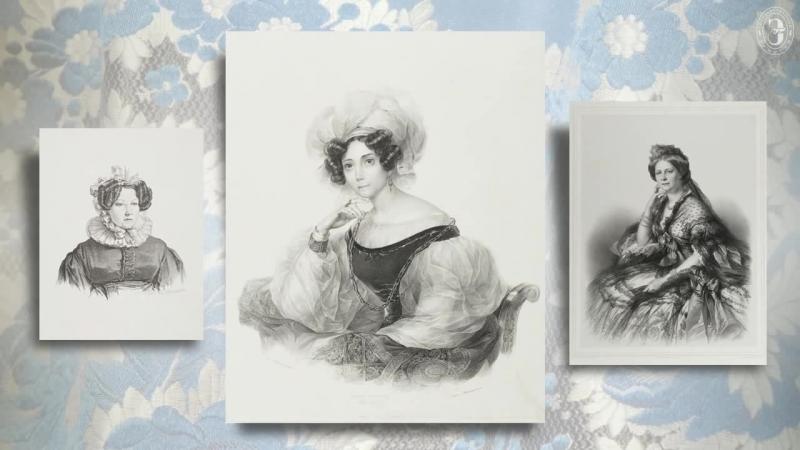 Русская портретная литография XIX века