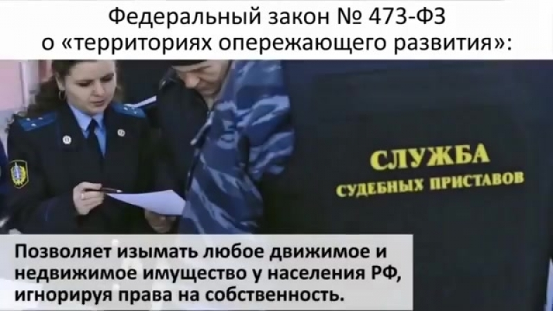 473 Закон о ТОРах или России больше не существует