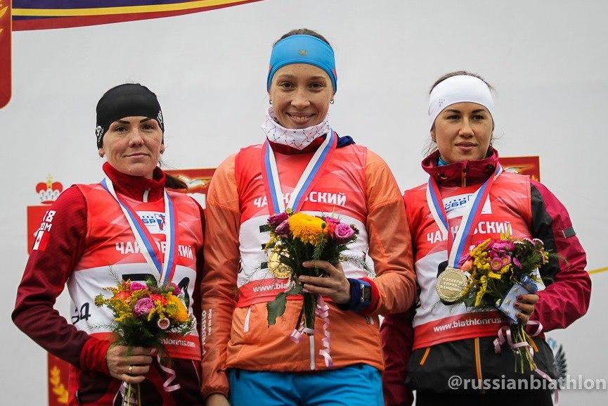 Чемпионат Росси  по биатлону, Чайковский, 2017 год