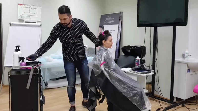 Serjfedik: Adorn - гидрозаряд: коллагеновое восстановление волос от Marcia Teixeira