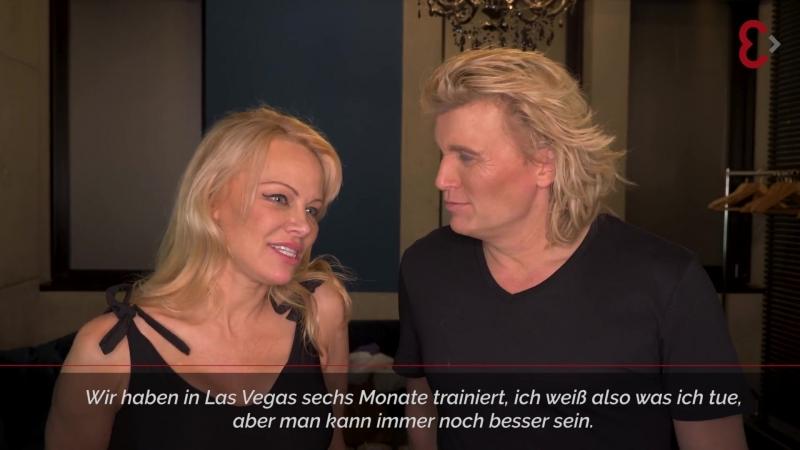Pamela Anderson, Hans Klok - Semmel Concerts Entertainment GmbH (16 february 2018)