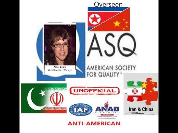 ASQ Member Aimee Siegler Can't Handle The Truth Hides Behind Libel Threats