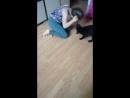 Кира играет с Боней)
