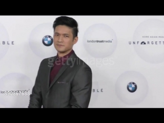 Harry Shum Jr on the red carpet for the Unforgettable Gala 2017!