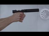 Бесшумный ветеринарный пистолет BT VP9