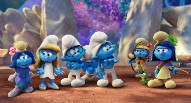 Smurfs The Lost Village in Hindi Movie Screen Shot 2