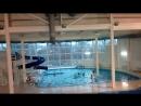 Тренировка по плаванию. Наши малыши начинают плавать и нырять пока не стоя с бортика