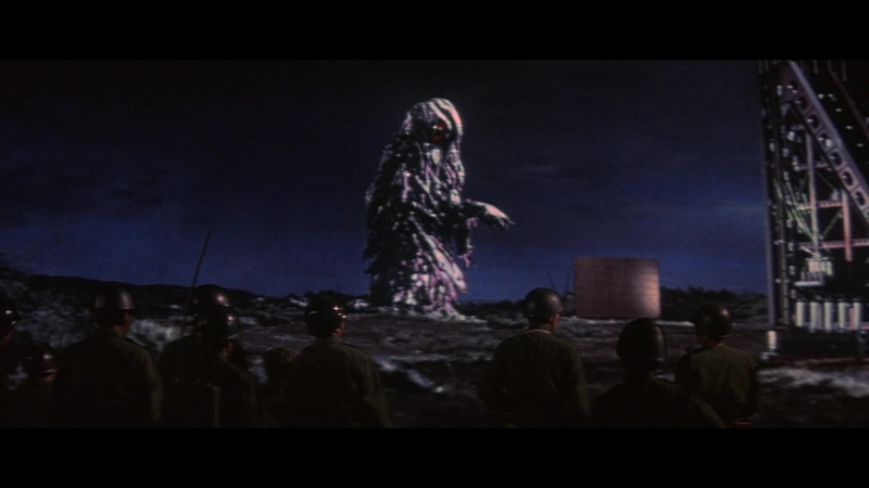 Годзилла против Хедоры Gojira tai Hedora 1971 BDRip Rus kosmoaelita