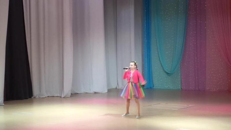 Варвара на конкурсе серебряное копытце городской этап 20 марта 2018