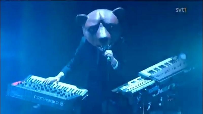 Teddybears - Rocket Scientist (Live P3 Guld 2010)