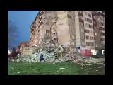 Обрушение дома в Ижевске 09.11.2017