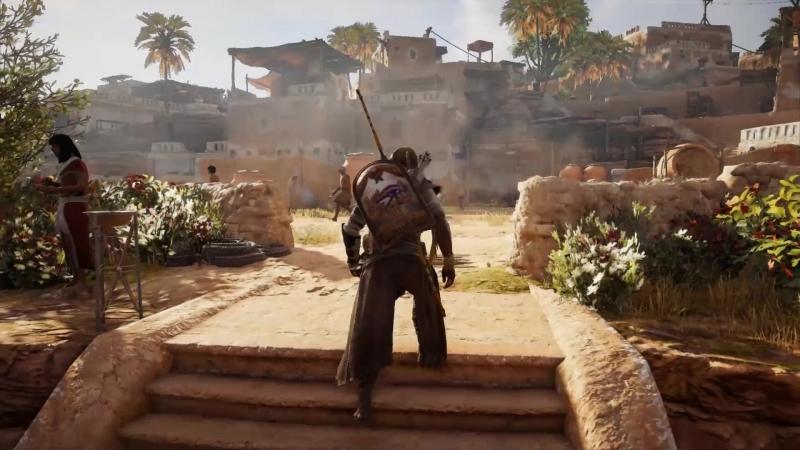 Прохождение Assassin's Creed: Origins 21 (PC) - Страшные слухи