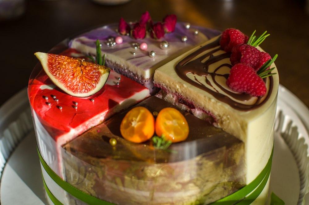 ледяном красивая картинка торта четвертинки знак формирует собой