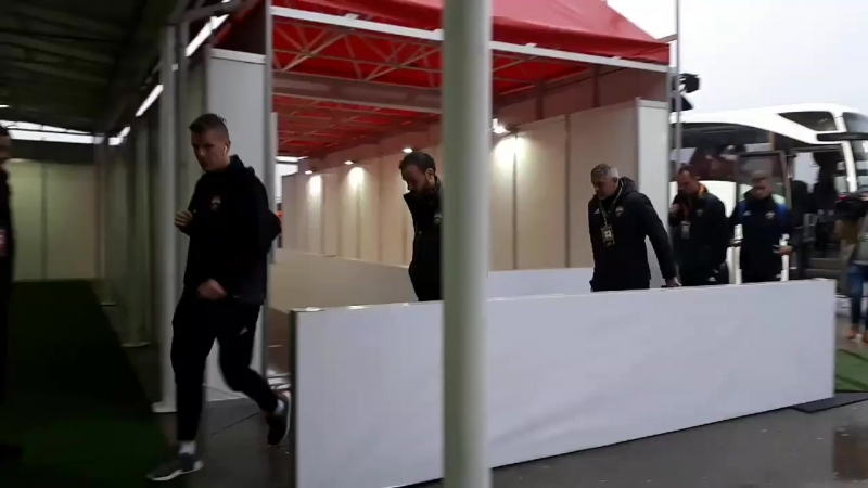 Армейцы приехали на стадион