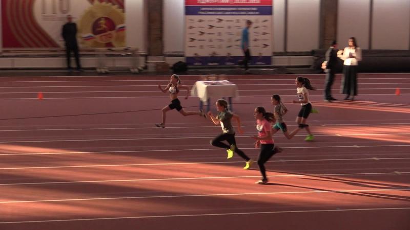 60 м. Девочки. 5-й забег » Freewka.com - Смотреть онлайн в хорощем качестве