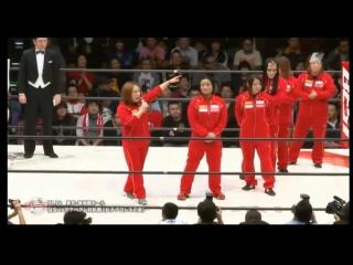 1. Kyoko Kimura  Sareee vs. Alex Lee  Chikayo Nagashima (11/12/15)