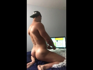 Bryan Hawn Playing Video Games Naked