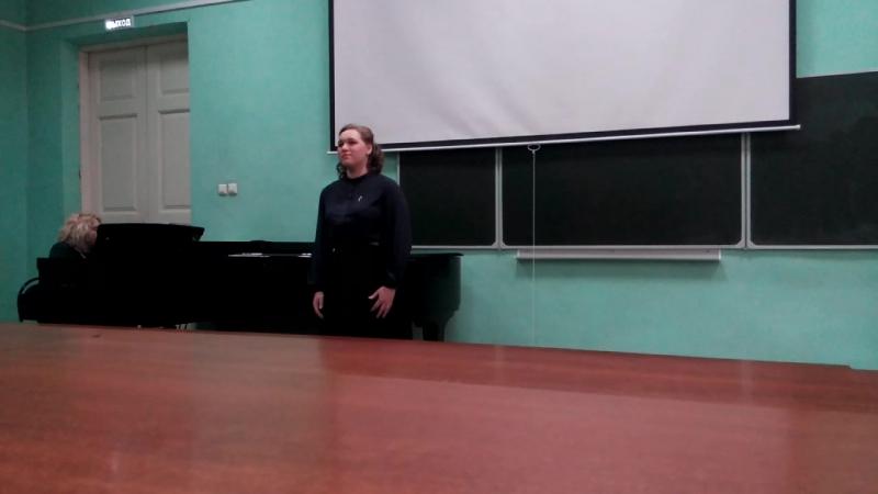 Екатерина Танкова - Ариозо Аси из оперы