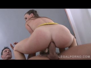 [Legal ASS]Tiffany Doll assfucked milf slut double penetration ANAL 720p