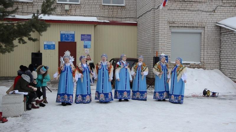 Масленица (Вошла в избу девица) в исполнении хора Веретенце