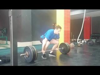 clean 85kg (Денис Ленцов)