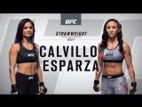 UFC 219 Cynthia Calvillo vs Carla Esparza
