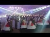 أضخم وأكبر عرس جماعي أقيم مساء اليوم في سورية أكثر من الف عريس و عروس