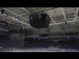 Видео с трибун Чебоксары - Мордовия 2-5 11.02.2018