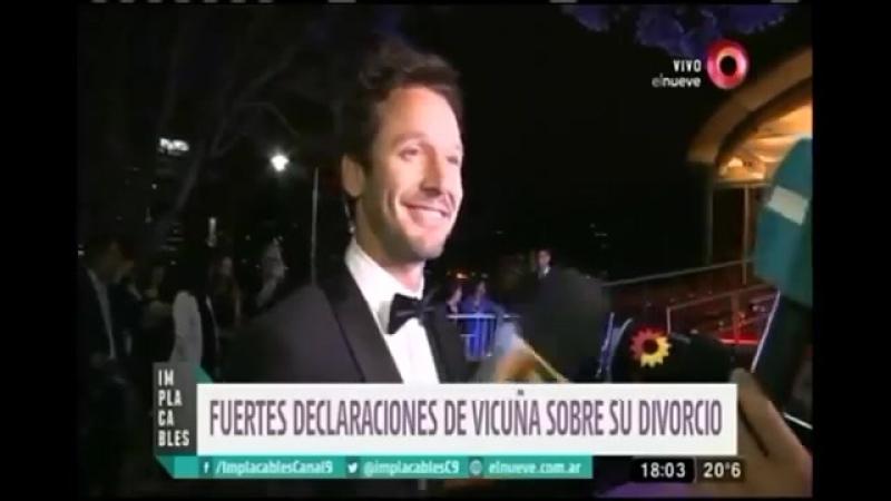 Benjamín Vicuña Entrevista Implacables Feliz con la gira de Eva Perón 18_11_29¿0