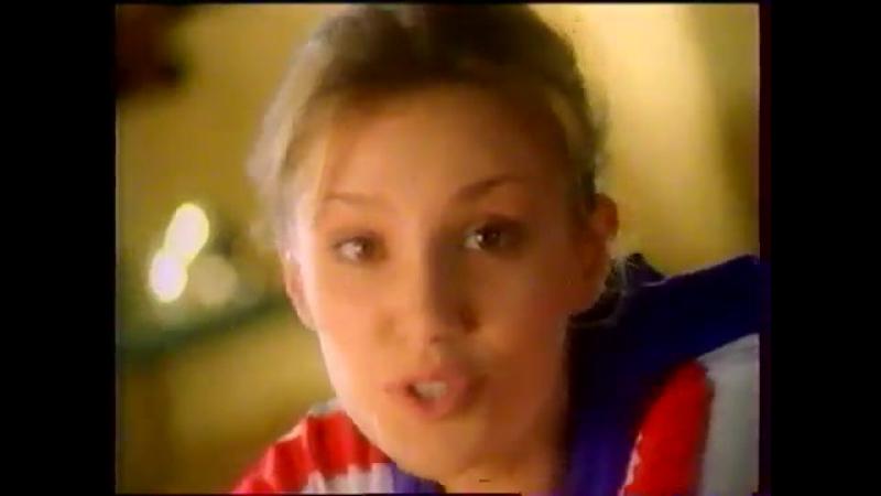 Рекламный блок (ТВ-6, декабрь 1998) Миф, Mynthon, Бронхосан, Always, Old Spice, Dirol, Coca-Cola