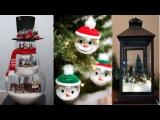 DIY ROOM DECOR! 19 Easy Crafts Ideas for Christmas - Christmas Decorations