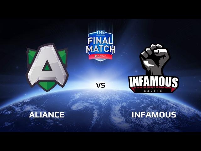 Alliance vs Infamous, The Final Match LAN-Final, Group B
