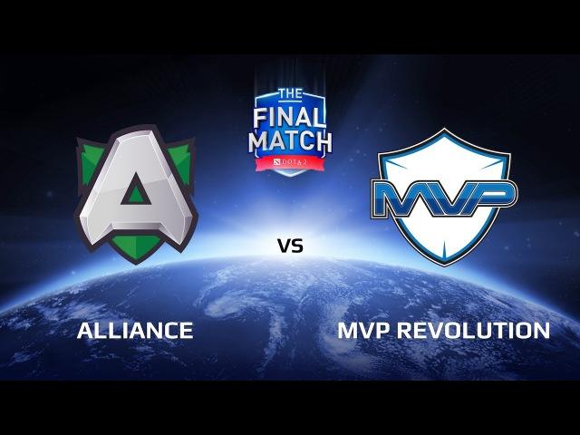 Alliance vs MVP Revolution, Game 1, The Final Match LAN-Final, Play-Off