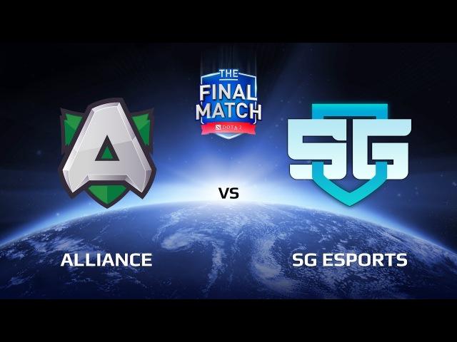Alliance vs SG eSports, Game 1, The Final Match LAN-Final, Grand Final