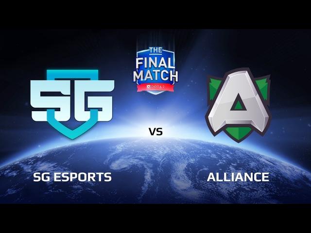 SG eSports vs Alliance, Game 1, The Final Match LAN-Final, Play-Off
