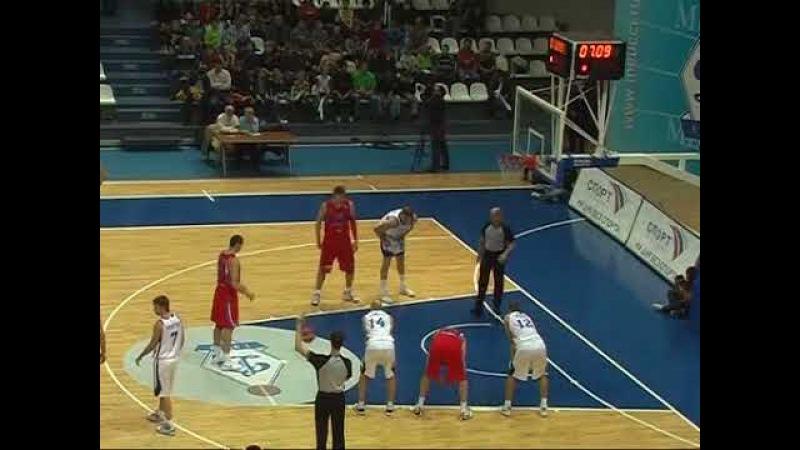 2009/10. Баскетбол. Суперлига. ДИНАМО Москва - ЦСКА - 85:82. 1ОТ.