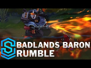 Badlands Baron Rumble Skin Spotlight - Pre-Release - League of Legends