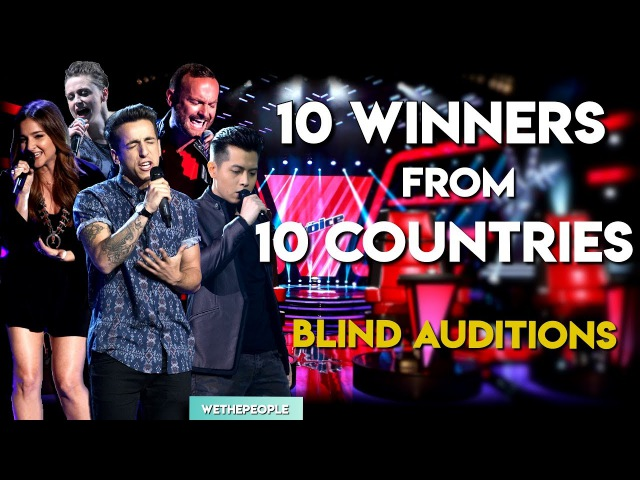 10 WINNERS Auditions From 10 Countries | The Voice