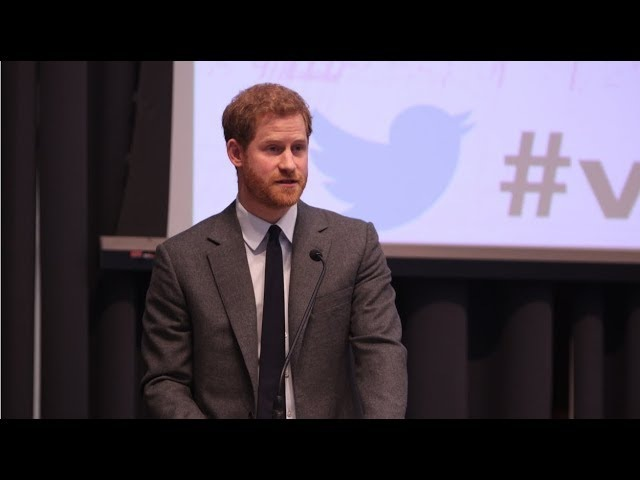 Heads Together | Prince Harry's speech at the Veterans' Mental Health Conference 2018