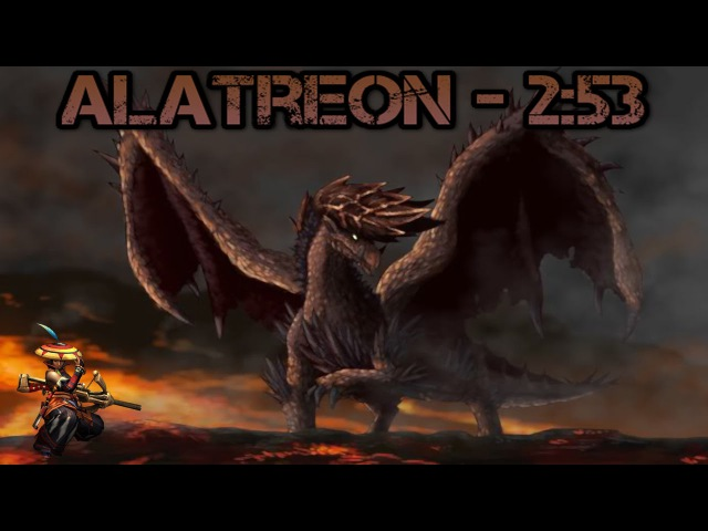 【MH3U】Alatreon︱3 P︱253︱LBG︱Reuploaded am 09.07.2017