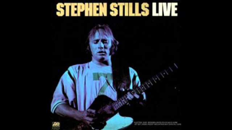 Stephen Stills Wooden Ships Live 1975