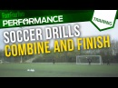Soccer shooting drill How to combine and finish